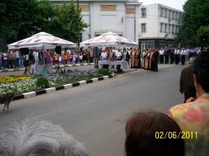 In timpul ceremoniei